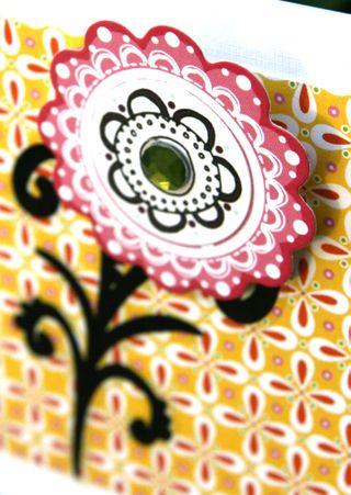 Girly Girl Layout - 3D flower (Birthday Paper)