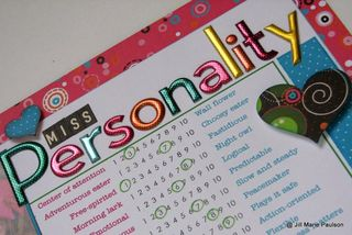 Miss Personality detail