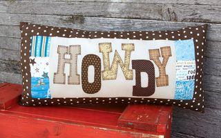 Howdy Pillow