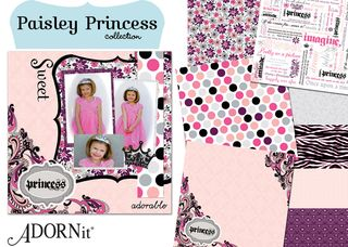 2011 Paisley Princess Collection