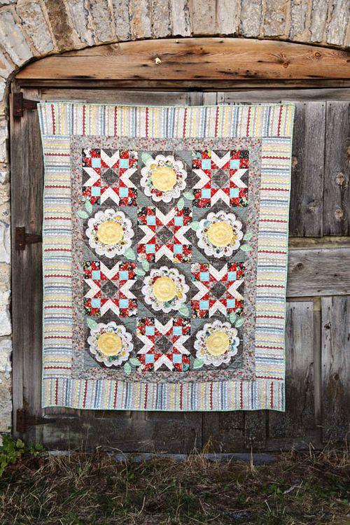 Vintage Floral Quilt_I