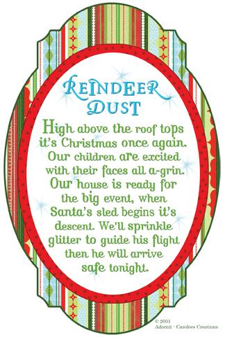 Reindeer Dust Poem